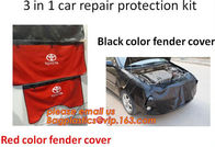 Car Fender Covers Protect Paintwork Magnetic Wing Bonnet Paint Auto Repair