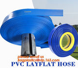 Flexible PVC Layflat Hose Water Irrigation Tube PVC Layflat Hose Gas Hose