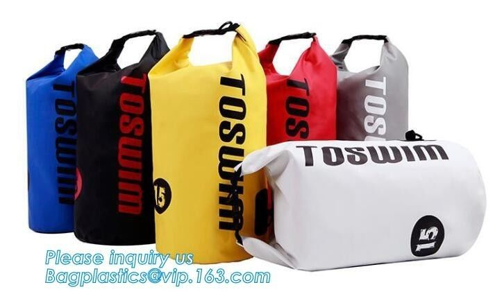 2L- 30L Retail Shopping Bags Custom Logo Water Repellent Dry Bag Waterproof Ocean Pack