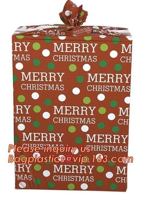 Christmas Food Gift Box Packaging Self Sealing Jumbo  Bicycle Bike Large Present Santa