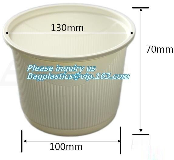 100% Biodegradable Sugarcane Cup , Eco Friendly Disposable Dinnerware
