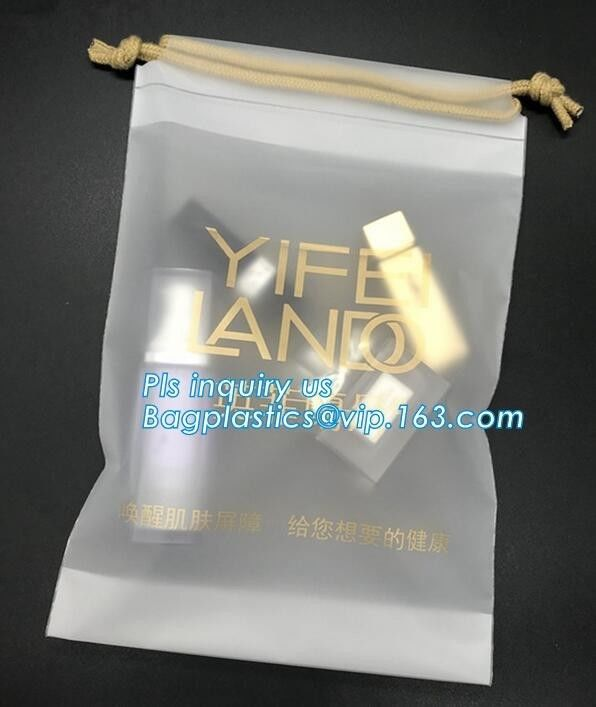 Customized Biodegradable Laundry Bags Environment Friendly Hotel Packaging Clothes