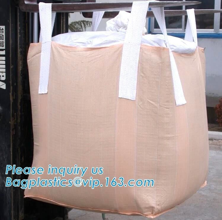 Grain Fibc Bulk Bags Pp Woven For Sand Jumbo Sand / Food / Rice