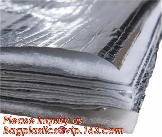 Fire Retardant Thermal Reflective Attic Insulation Aluminum Foil Insulations Roofing Wall